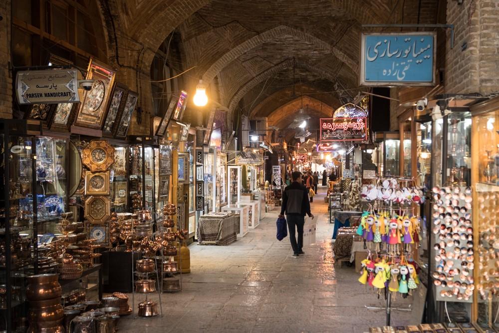 Isfahan Esfahan bazar