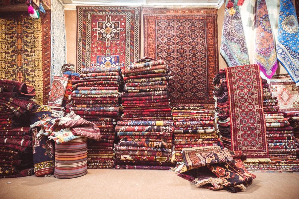 Persian carpets Iran