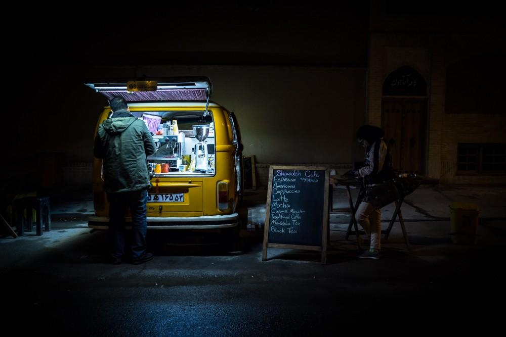 Kashan volkswagen coffee bus van