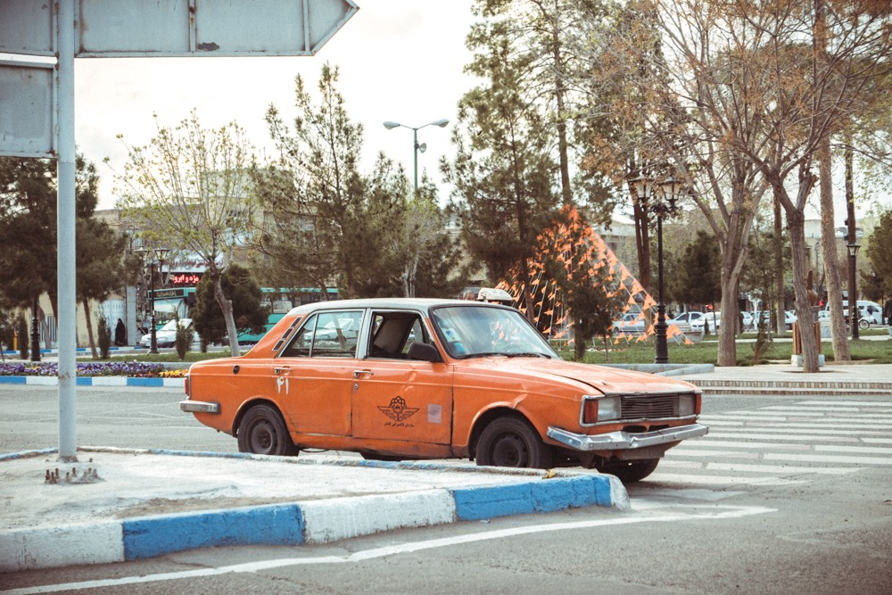 Paykan taxi Kashan